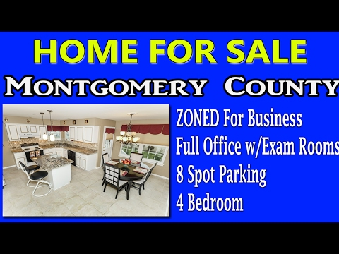 Homes For Sale 4 BED W/ Zoned Business Montgomery County 125 Horseshoe North Wales 19454 Real Estate