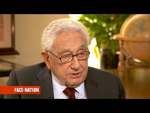 Henry Kissinger on Trump's Chinese policy