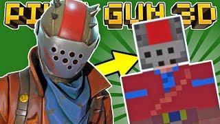 HOW TO MAKE RUSTLORD in PIXEL GUN 3D! (Fortnite Skin Tutorial)