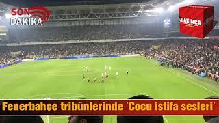 Fenerbahçe tribünlerinde Cocu İstifa sesleri