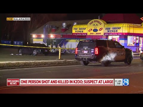 One Person Shot And Killed In Kzoo; Suspect At Large