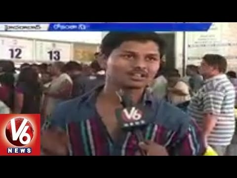 TSRTC | Students Facing Problems to Avail RTC Bus Pass | Hyderabad - V6 News