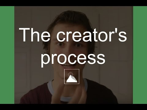 The Creator`s Process - Living the dream