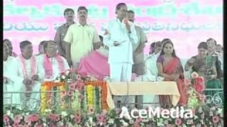 CM KCR speech at Armoor development