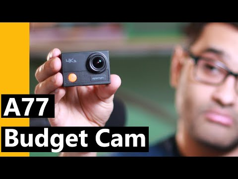Apeman A77 4k Action camera full test and review