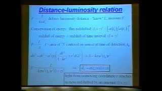 Repeat youtube video CERN- The observed universe Lecture
