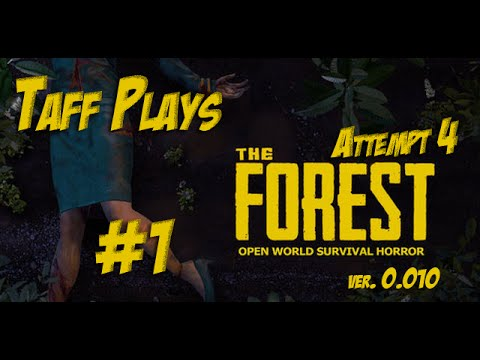 The Forest - Attempt 4 - Another Day, Another Plane Crash!