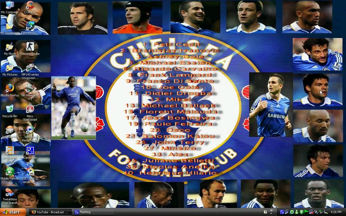 Cool Chelsea FC Desktop Wallpaper - YouTube