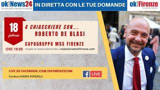 4 chiacchere con Roberto De Blasi