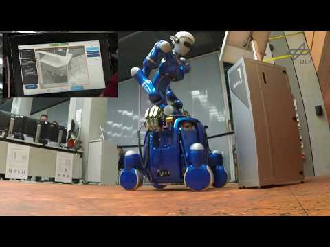 METERON SUPVIS Justin: The first intelligent robotic co-worker for astronauts