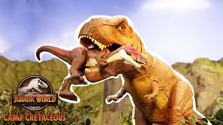 Camp Cretaceous Files: Epic Escape | Jurassic World | Mattel Action!