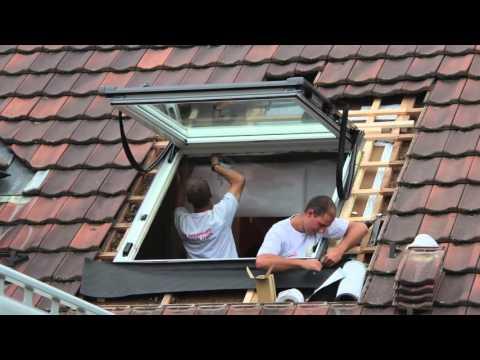 Velux fenster ausbau und einbau anleitung deutsch doovi - Dachfenster innenfutter rigips ...