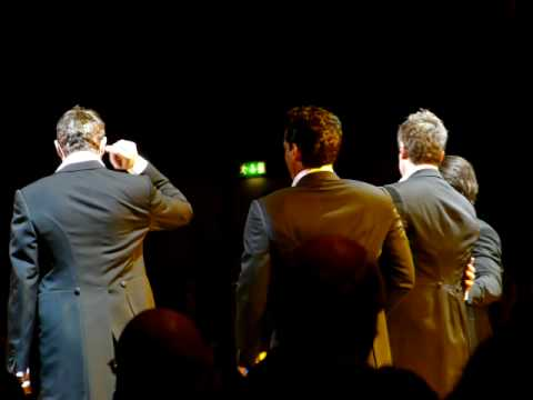 Il divo lg arena 09 amazing grace and the impossible dream youtube - Il divo amazing grace video ...