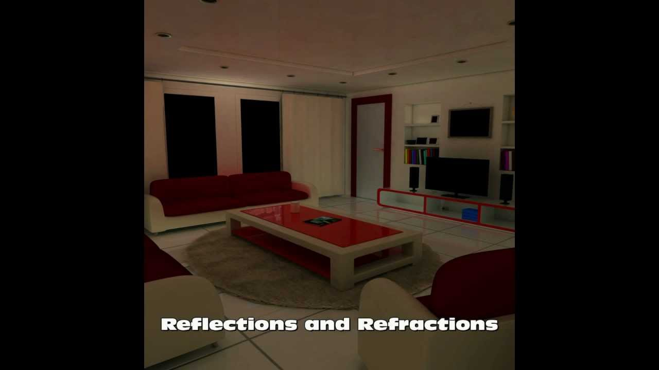 Interior Design Living Room using Autodesk Maya 2012 and mental