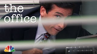 Michael Loves His Speakerphone - The Office