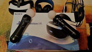 ОГЛЯД Playstation VR (PS VR) МІНУСИ PS VR НАЛАШТУВАННЯ