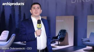 Imm Cologne 2017 | Sits - Marek Dobrzeniecki talks about the collections Birds and Compact Living