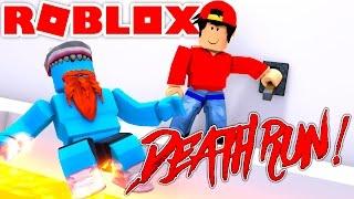 ROBLOX Adventure - DEATH RUN WITH SHARKY!!
