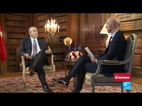 Interview of Foreign Minister Mevlüt Çavuşoğlu to France 24, 7 October 2017