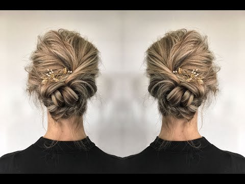 Twisted Updo For Everything!