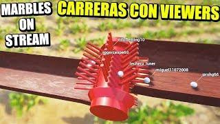 CARRERAS CON VOSOTROS - MARBLES ON STREAM | Gameplay Español