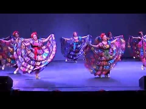 30th Annual Ballet Folklórico de Stanford - 2014 - #3 - Chiapas