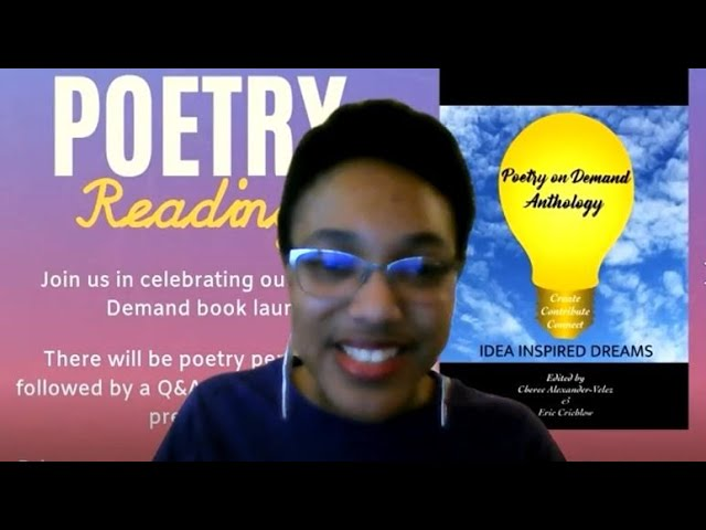 Poetry on Demand Anthology Book Reading! 2.20.2021