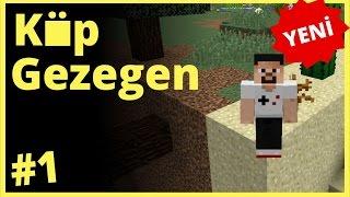Küp Gezegen Survival Minecraft Harita Bölüm 1