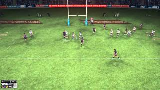Official Rugby League Live 2 Gameplay