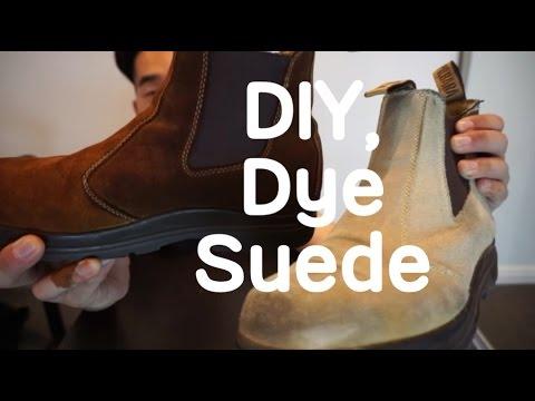 get online elegant shoes official DIY, How to repair brown Suede Nubuck :: 물빠진 스웨이드 염색하는 법