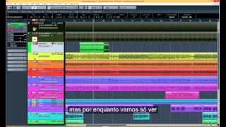 Cubase Elements 7 Basic Tutorial with subtitles in Portuguese.