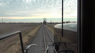 Cab Ride in US Rail 409 - Logansport to Kokomo, Indiana