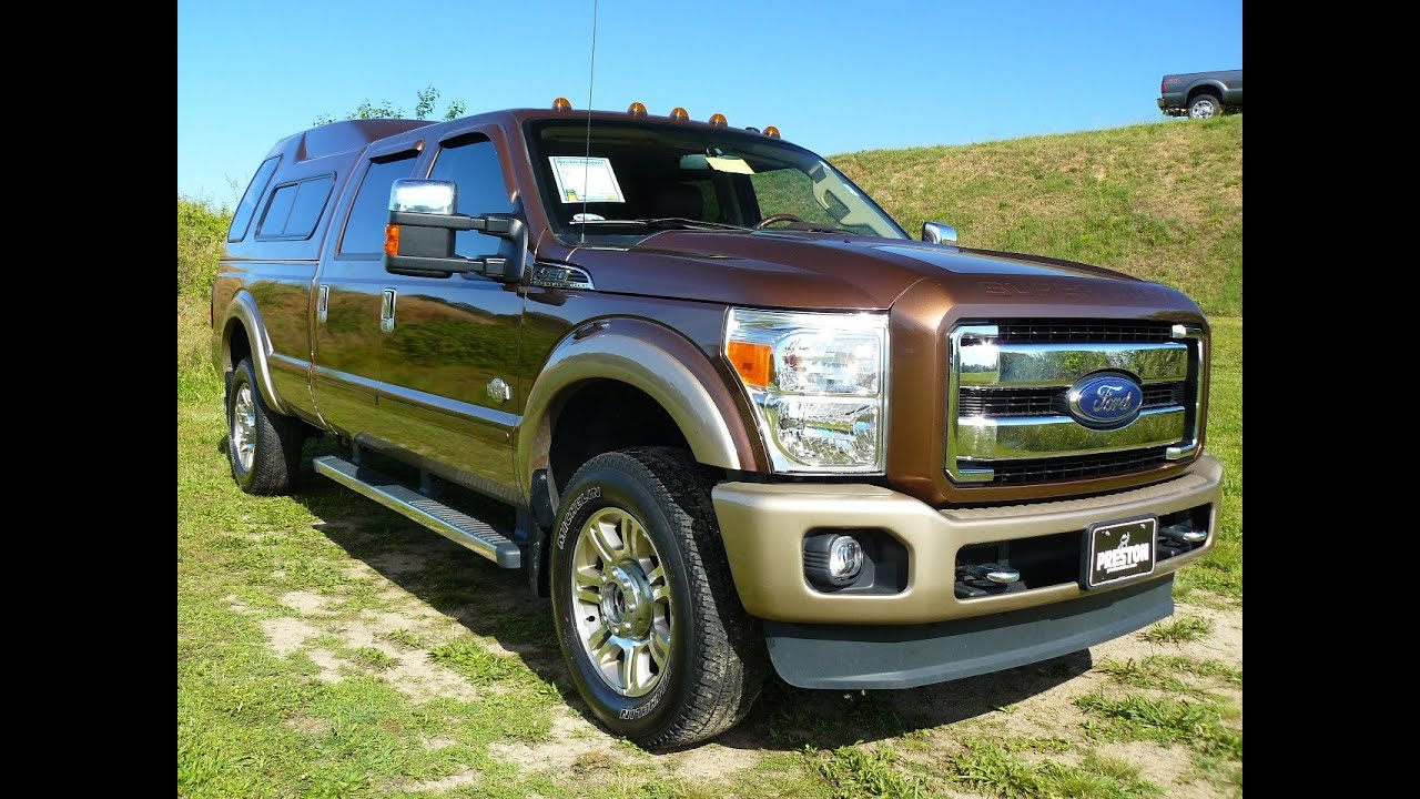 2012 ford f250 diesel v8 king ranch used diesel truck for sale c500015a youtube. Black Bedroom Furniture Sets. Home Design Ideas