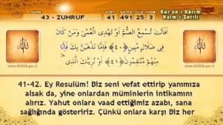 43 Sure Zuhruf Suresi