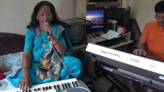 Dil Deewana Bin Sajna Ke Mane Na Lata Mangeshkar Song Singing By Namita Saha Keyboard Accompaniment