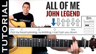 Baixar Como tocar ALL OF ME de John Legend en guitarra acústica Tutorial MUY FACIL
