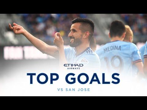 Top Goals | NYCFC vs San Jose Earthquakes