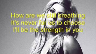 Calvin Harris - Outside ft  Ellie Goulding (LYRICS)
