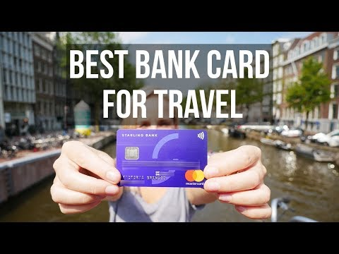 THE BEST BANK CARD FOR TRAVEL! // STARLING BANK