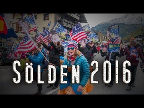 Mikaela Shiffrin Fanclub • On Tour • Sölden 2016 [HD]