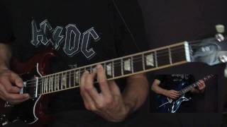 Скачать ARE YOU READY AC DC Guitar Cover HD