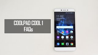 Coolpad Cool 1 FAQs - Sensors, Benchmarks, OTG, Performance and Software