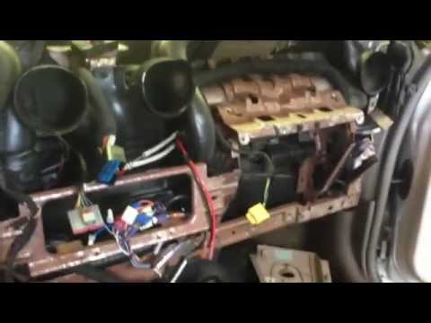 2002 PT Cruiser Heater Core Replacement - YouTube