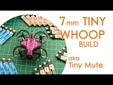 """7mm Tiny Whoop - powerful ducted micro brushed acro whoop (aka """"Tiny Mute"""" build) - BUILD LOG"""