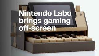 Nintendo Labo: DIY cardboard kit brings gaming off-screen