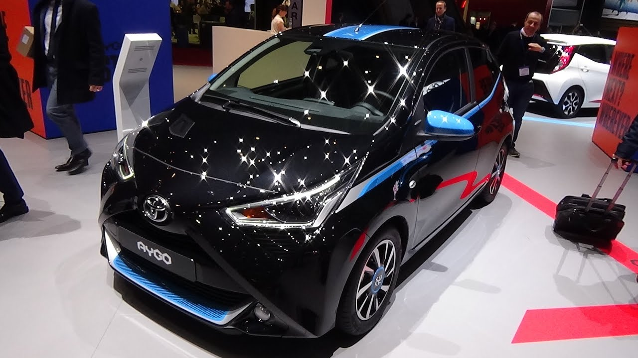2019 toyota aygo x trend exterior and interior geneva motor show 2018 youtube. Black Bedroom Furniture Sets. Home Design Ideas