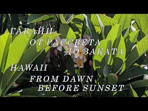 Гавайи. От рассвета до заката.|Hawaii. From Dawn Before Dusk.