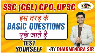 SSC CGL (CPO),  UPSC, BANK PO, NDA | Common Error Practice | Exam Preparation By Dharmendra Sir