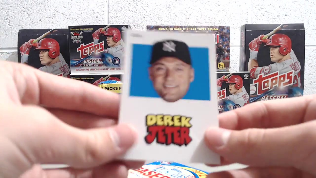 2012 Topps Archives Baseball Blaster Box Bryce Harper Rookie Card Chase
