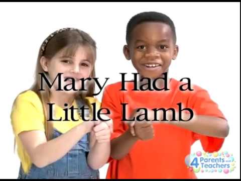 Mary Had a Little Lamb Song | Nursery Rhyme | ASL Kids Song
